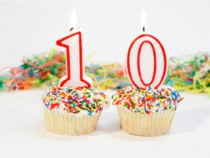 10 year blog anniversary
