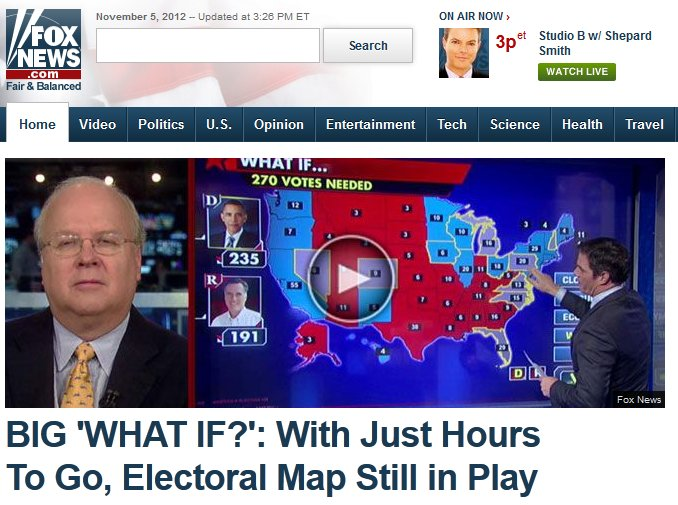 """Big 'What If?': With just hours to go, electoral map still in play"""